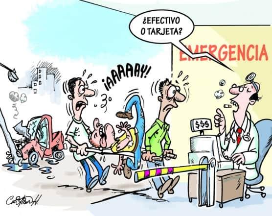 Cuestión de salud en los hospitales