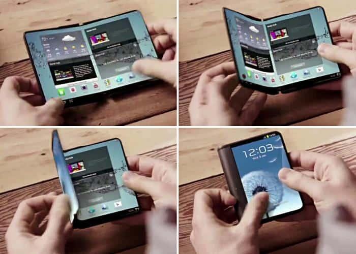 smartphone Samsung plegable