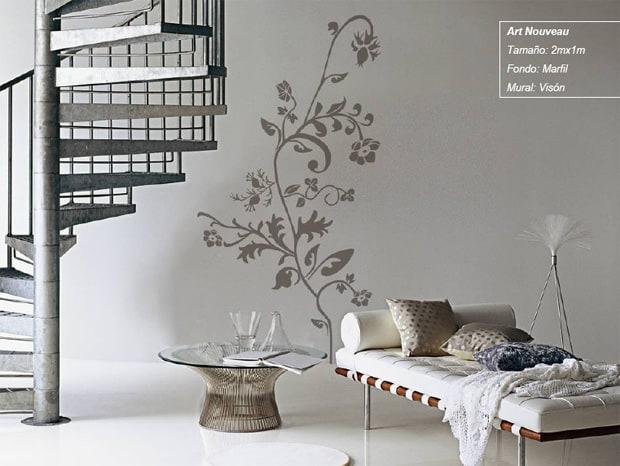 Tips para poner fotomurales en casa mviv - Pinturas decorativas en paredes ...