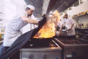 manta seguridad cocina