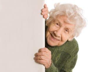 anciana divertida