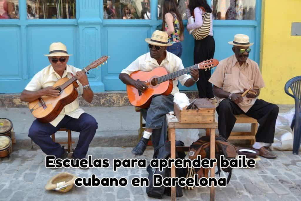 Aprender baile cubano en Barcelona